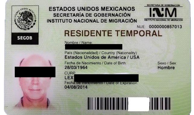 Mexican Temporary Visa